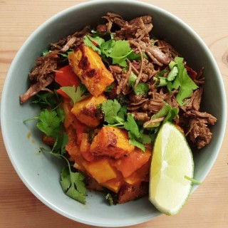 Pulled beef indian style